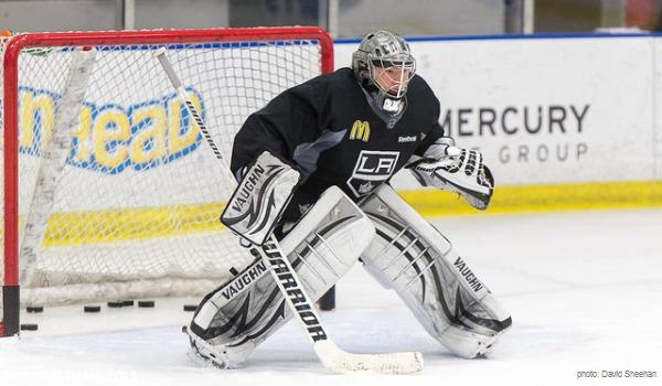 Jonathan Quick Kings practice