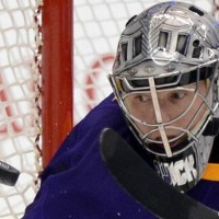 Jonathan Quick talks passing Kelly Hrudey on Kings' playoff win list