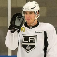 Dustin Brown post-game – includes chirp for Penner and health update