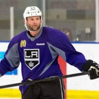 Robyn Regehr's first interview as a member of LA Kings