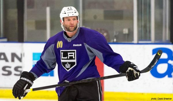 Robyn Regehr LA Kings MayorsManor