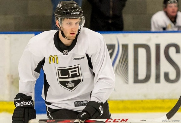 :Linden Vey - LA Kings Black Aces 2013