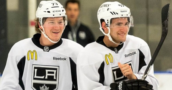 Vey Toffoli LA Kings 2013