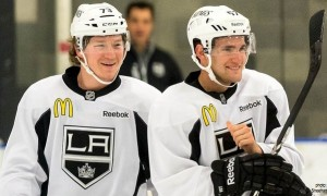 Tyler Toffoli Linden Vey LA Kings MayorsManor