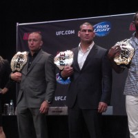 UFC champs in LA - summer 2013