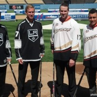 Dodger Stadium presser Kings Ducks
