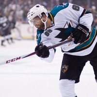 Brent Burns hat trick powers Sharks past the Blues