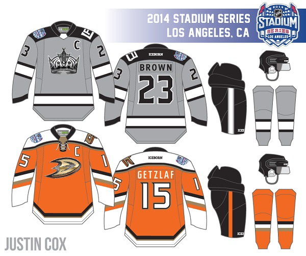 the best attitude 5e999 dee80 UPDATED PREVIEW: Kings and Ducks 2014 Stadium Series Jerseys ...