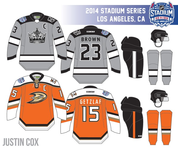 the best attitude bff46 57a41 UPDATED PREVIEW: Kings and Ducks 2014 Stadium Series Jerseys ...