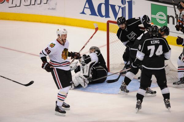 Bickell goal Blackhawks Kings