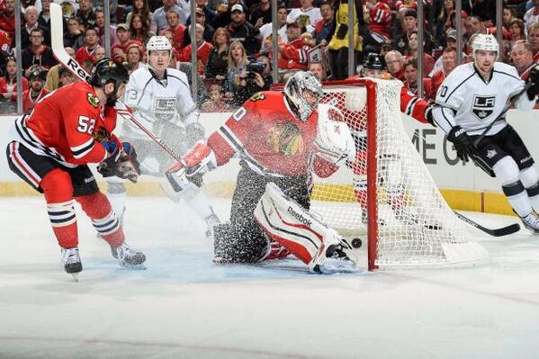 Blackhawks Kings Toffoli Crawford