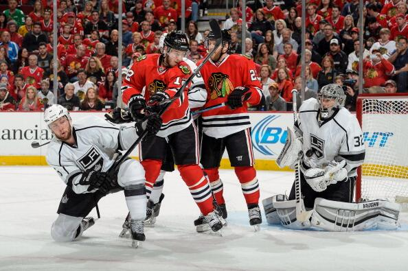 Blackhawks Kings WCF