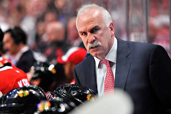 CHI - Coach Q Blackhawks