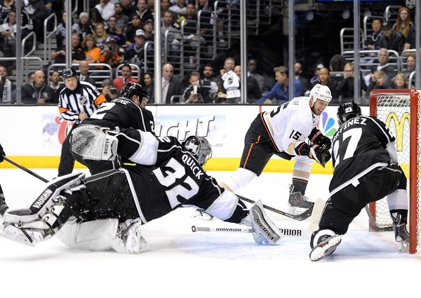 Game 3 Kings Ducks Getzlaf Quick 2014