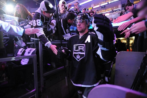 Game 3 Kings Kopitar NHL playoffs 2014