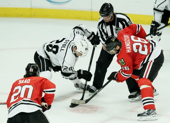 Handzus Stoll Kings Blackhawks