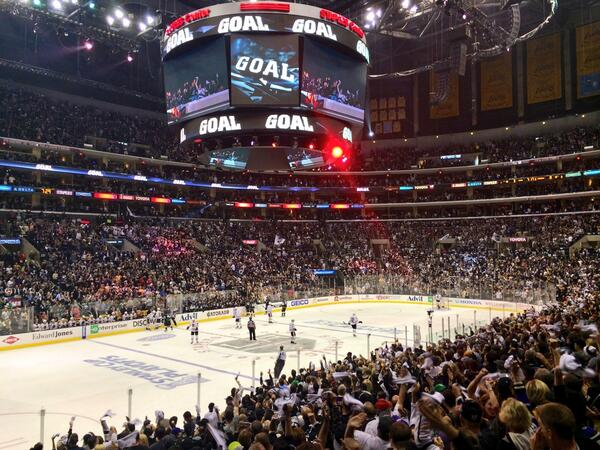 Kings Stanley Cup Playoffs Staples Center