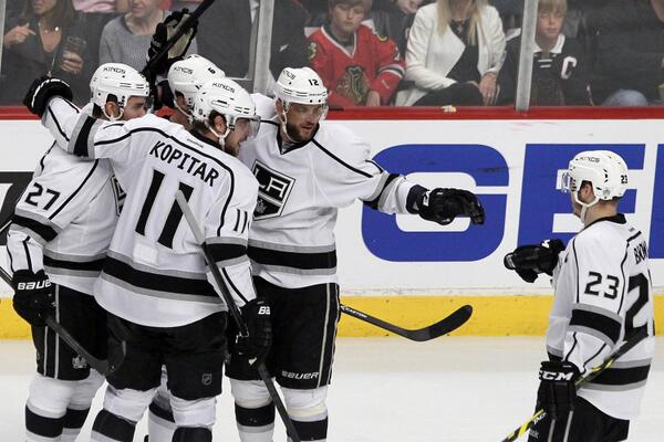 Kopitar Gaborik Kings