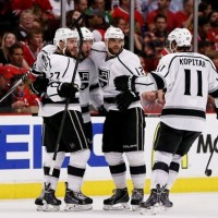 Kopitar Game 2 WCF Kings Blackhawks