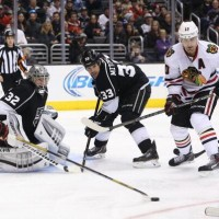 Willie Mitchell talks about rejoining Kings line-up for WCF