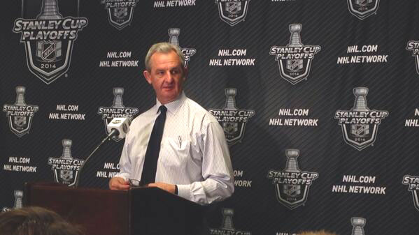 Sutter-at-Playoffs-Press-Coference 2014
