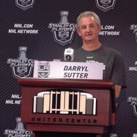 Darryl Sutter comments from Tuesday's Kings practice in Chicago