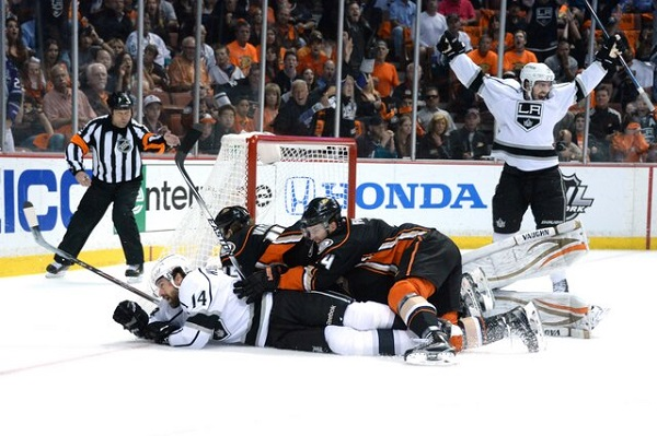 Williams goal Game 7 Kings Ducks