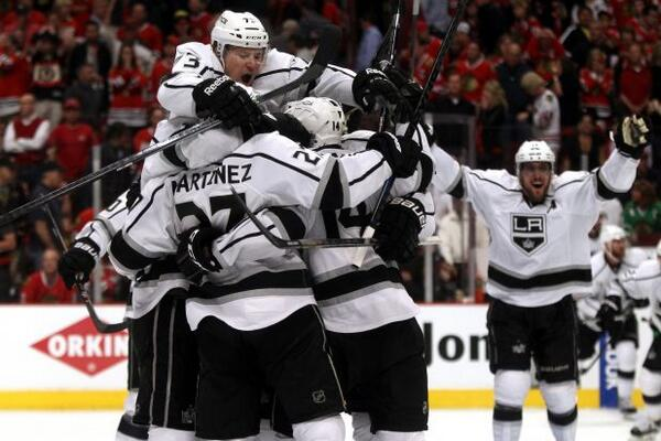 Game 7 Kings def Blackhawks