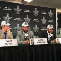Game 7 presser Toffoli Williams Martinez