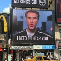 Kings billboard 2014 playoffs NYC