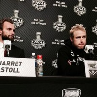 SCF Post-game 2 with Kings Dustin Brown and Jarret Stoll