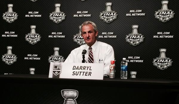 Sutter Darryl Kings NHL