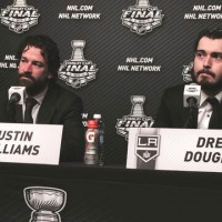 Post-Game 1 comments from Drew Doughty and Justin Williams