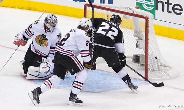Kings Blackhawks photo by Zampelli