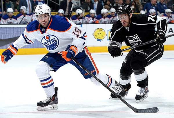 Kings Oilers NHL hockey
