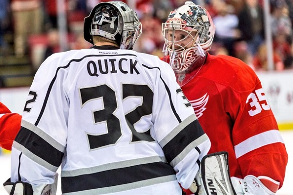 Quick Kings Howard Wings NHL