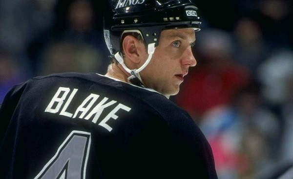 Blake Rob Kings NHL hockey HHOF