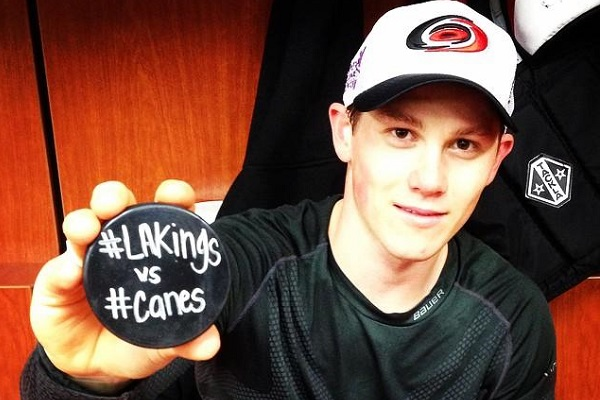 Canes puck