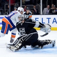 Quick Okposo Kings Islanders NHL