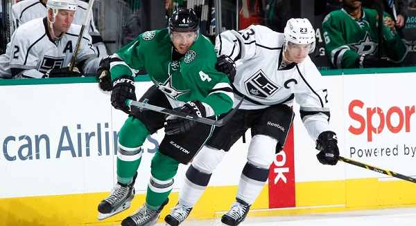 Stars Kings Nov 2014 hockey NHL