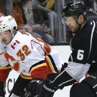 Flames Kings Muzzin NHL