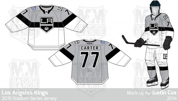 Kings 2015 Stadium Series jersey v2