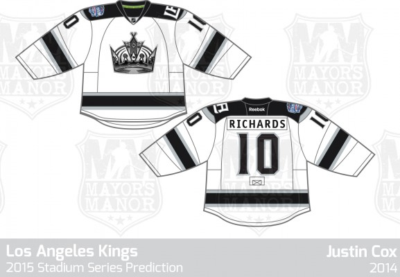LAKings Stadium Series Jersey 2015 MayorsManor v1
