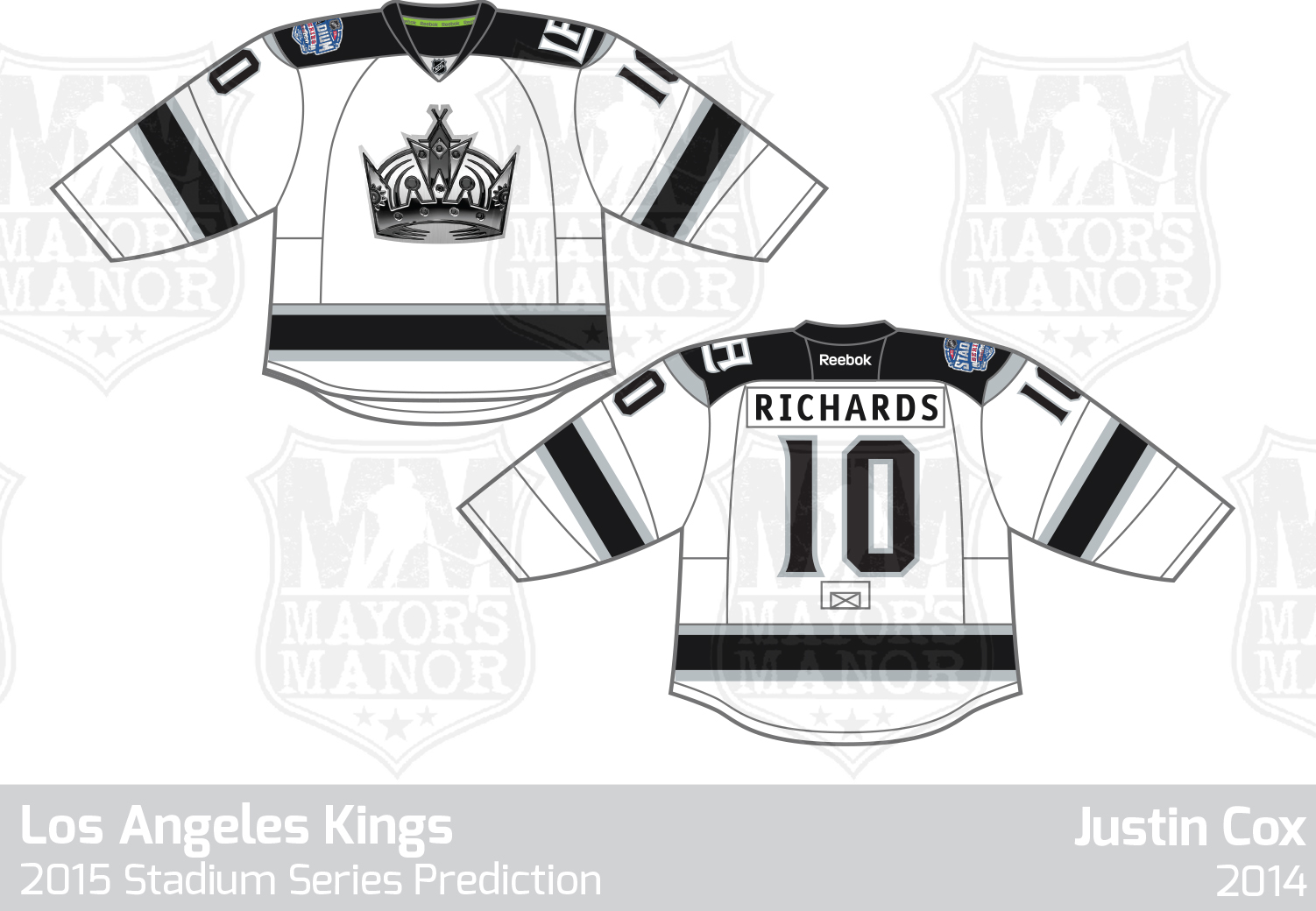 new style 50257 6cb59 PREVIEW: LA Kings 2015 Stadium Series Jersey | Mayor's Manor