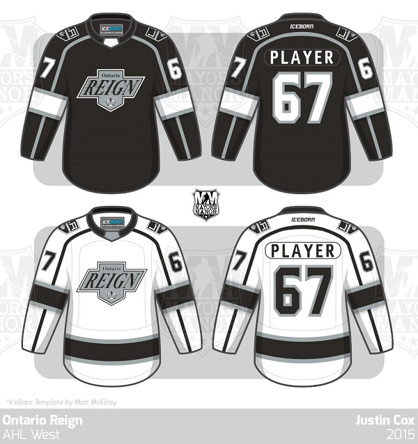 pretty nice 2bdfd de3b5 Ontario Reign 2015-16 AHL Jersey Preview | Mayor's Manor
