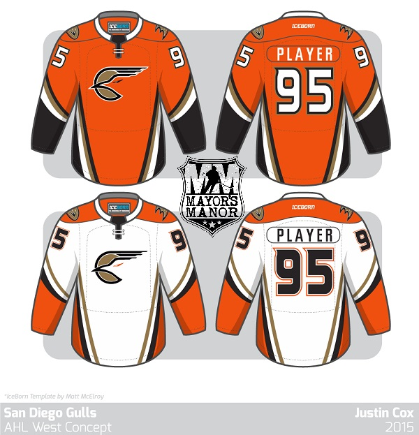 Gulls 2015 AHL Ducks MayorsManor