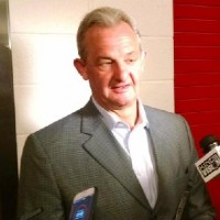 Stadium Series Practice: Kings Coach Darryl Sutter Quotes