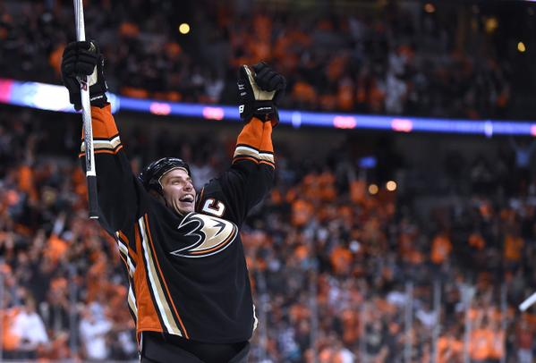Getzlaf Ducks NHL playoffs