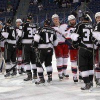 Analysis, Line Combos, and Highlights from Monarchs ECF Sweep