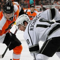 Richards Mike Kings NHL Flyers NHL hockey